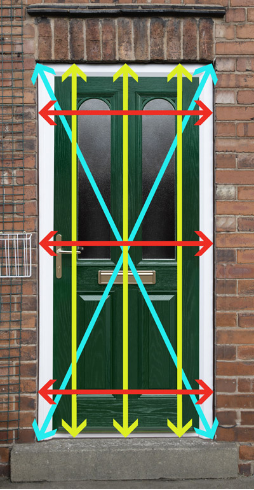 where to measure your door